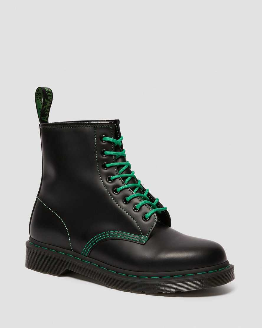 1460 Contrast Stitch Smooth Leather Boots   Dr Martens