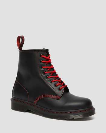 BLACK AND RED STITCH | Boots | Dr. Martens