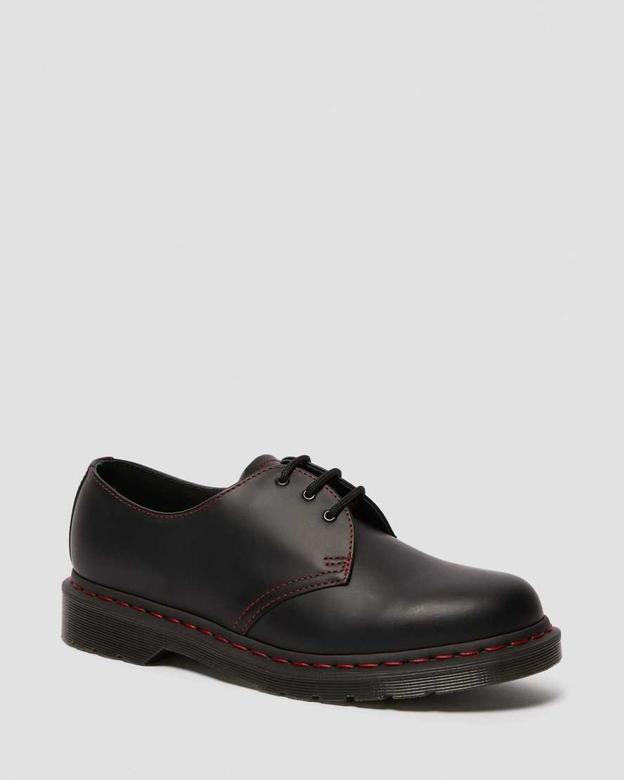 1461 Contrast Stitch Smooth Leather Oxford Shoes | Dr Martens