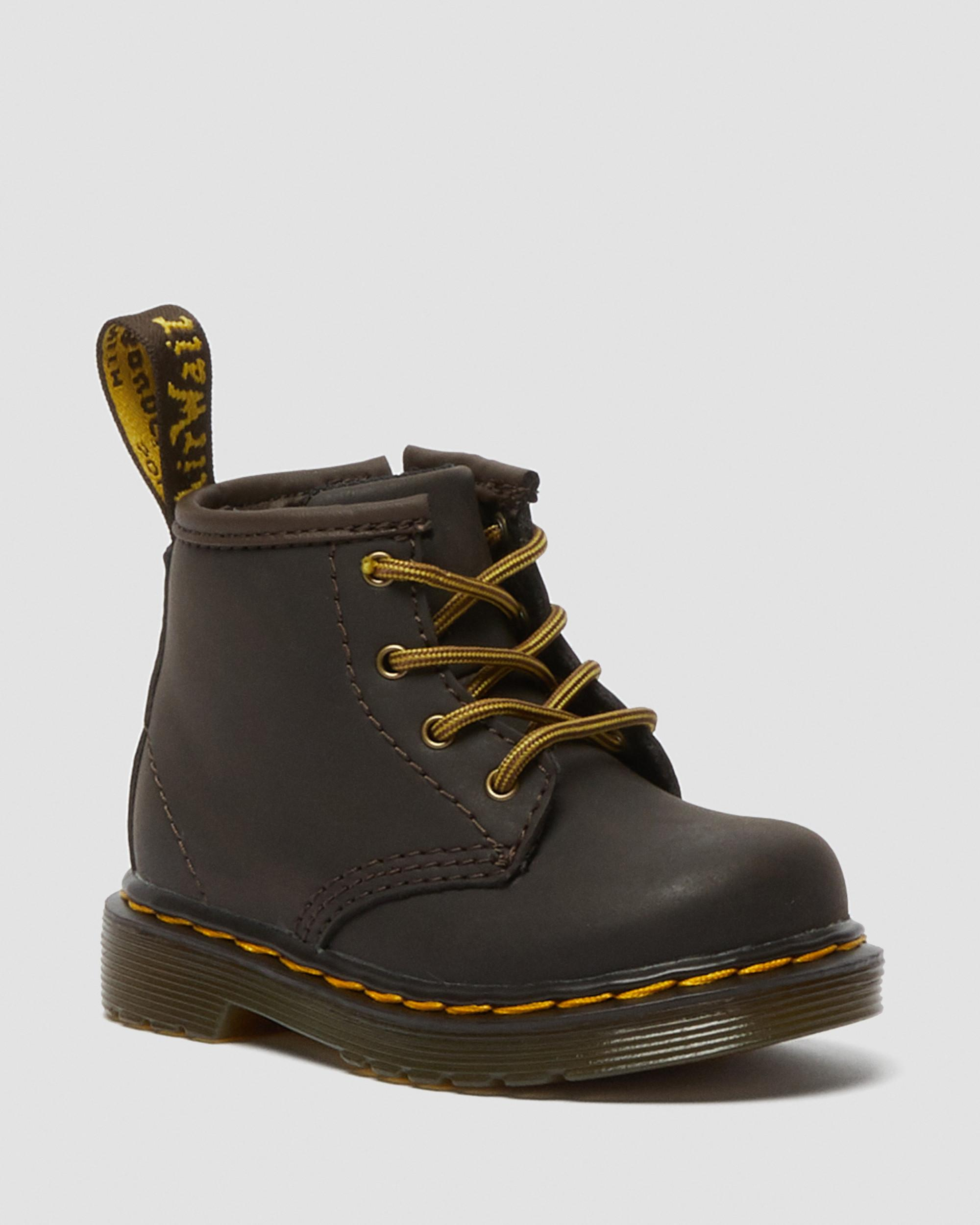 INFANT 1460 WILDHORSE LEATHER LACE UP