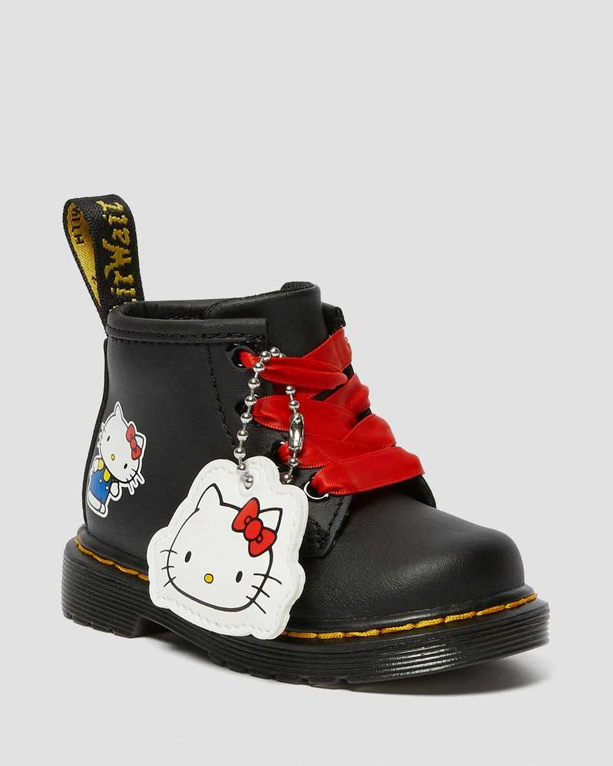 Infant 1460 Hello Kitty Leather Boots   Dr Martens