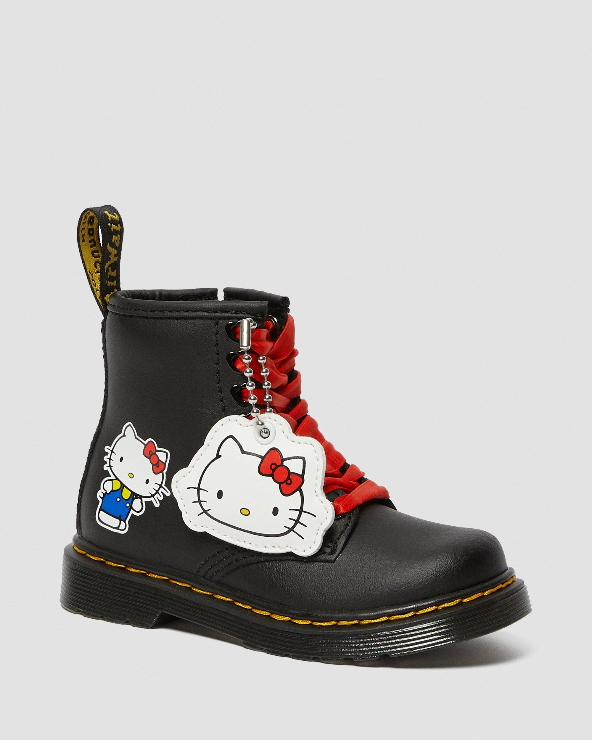 TODDLER HELLO KITTY 1460 LEATHER ANKLE