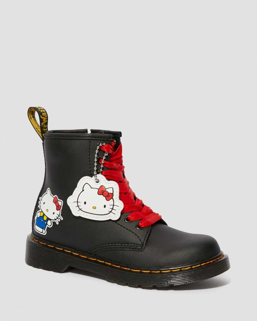 JUNIOR 1460 HELLO KITTY LEATHER BOOTS | Dr Martens