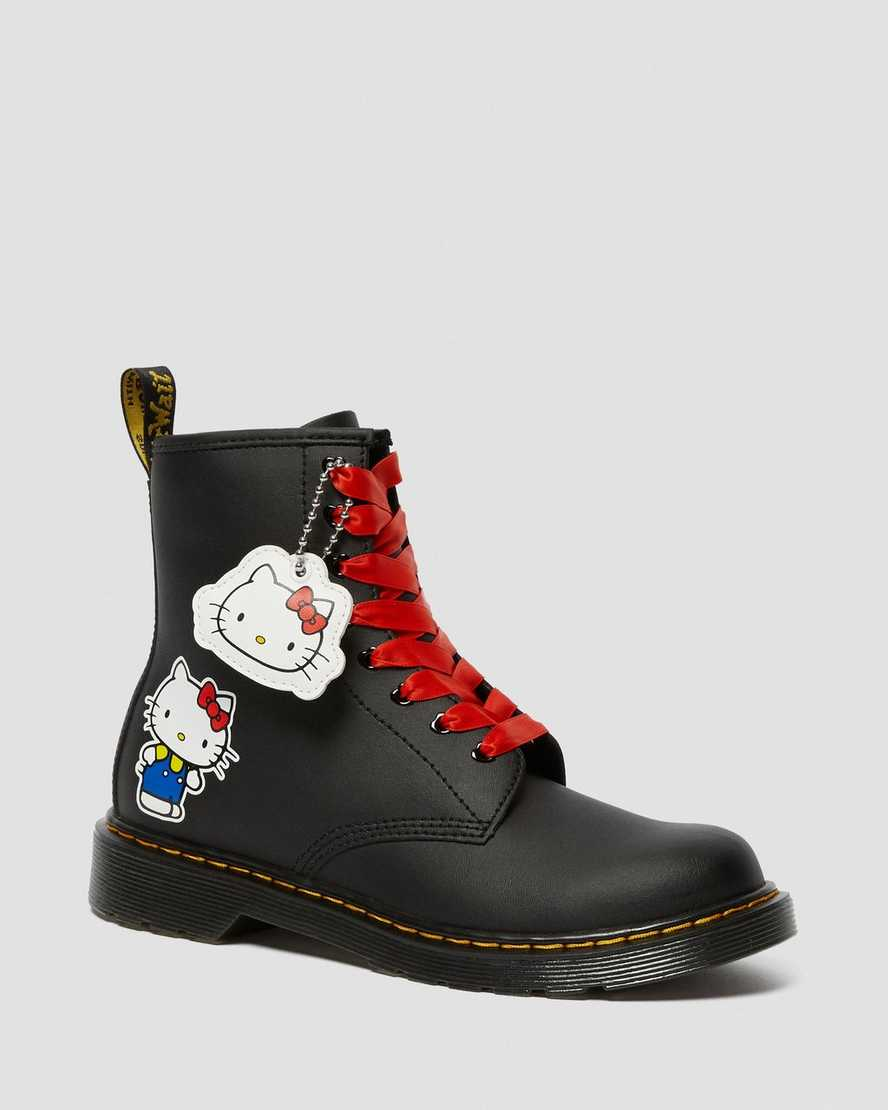 YOUTH 1460 HELLO KITTY LEATHER BOOTS | Dr Martens