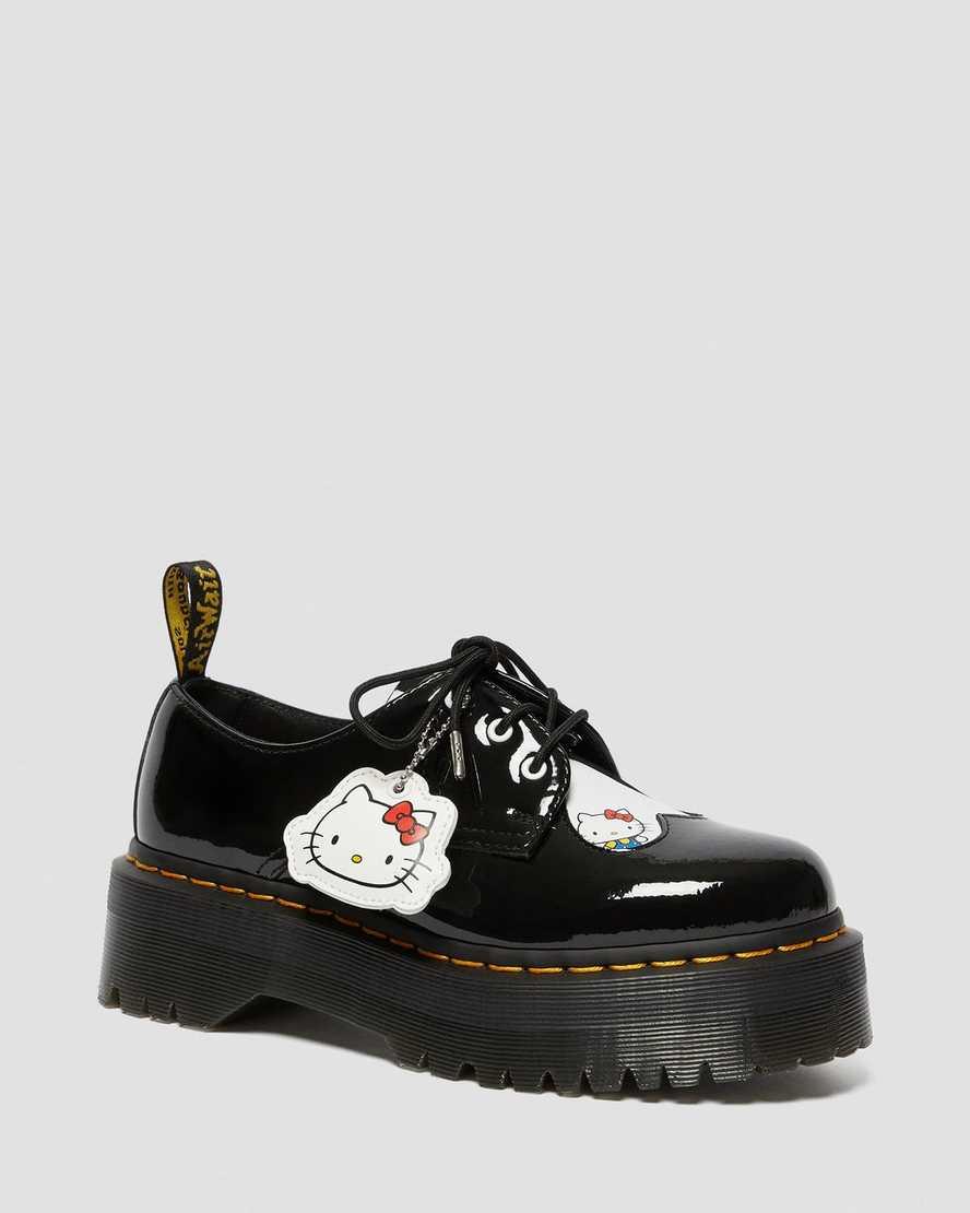 1461 Women's Hello Kitty Platform Shoes | Dr Martens
