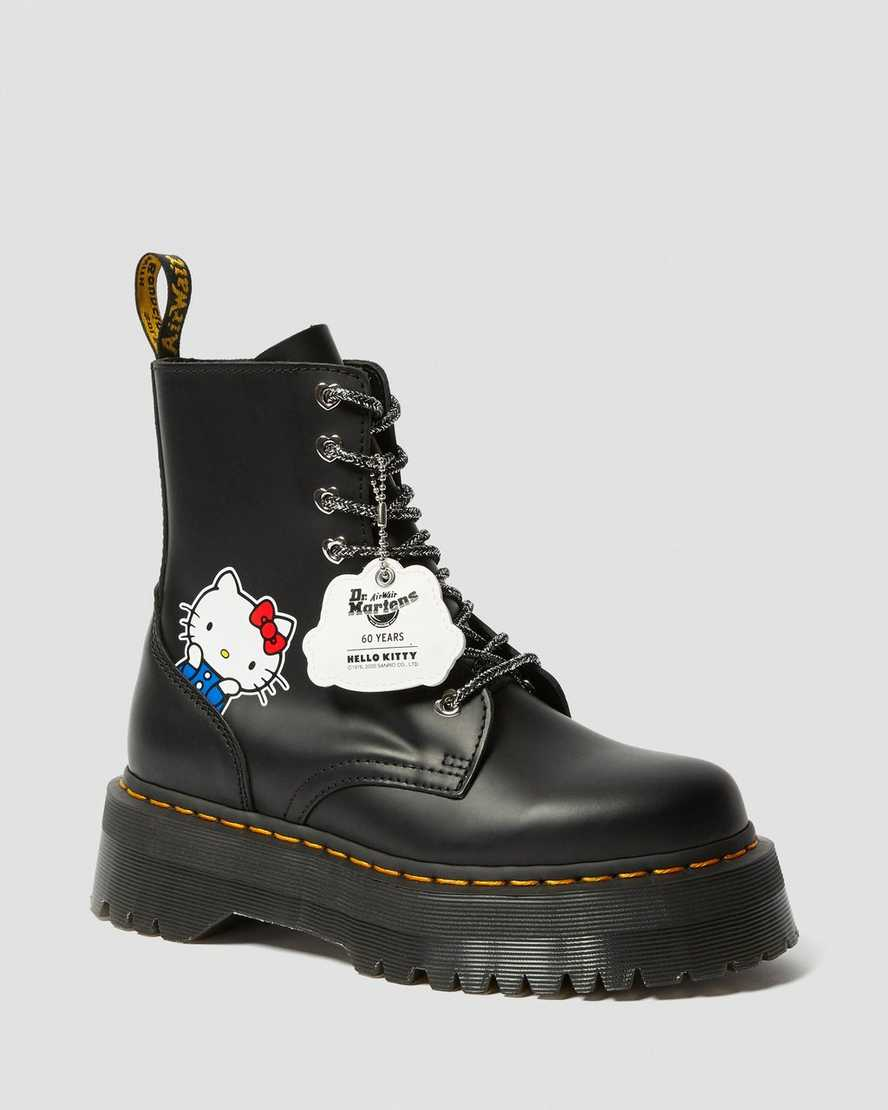 Jadon Women's Hello Kitty Platform Boots | Dr Martens