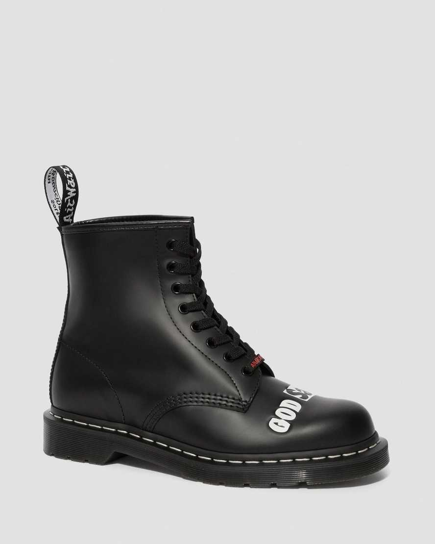 1460 Sex Pistols Smooth Leather Lace Up Boots | Dr Martens