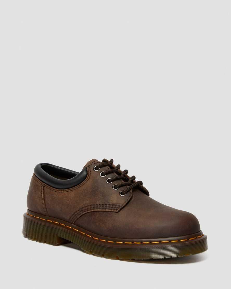 8053 Slip Resistant Crazy Horse Leather Casual Shoes | Dr Martens