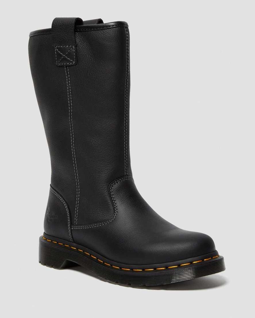 Belsay Women's Newark Leather Work Boots | Dr Martens