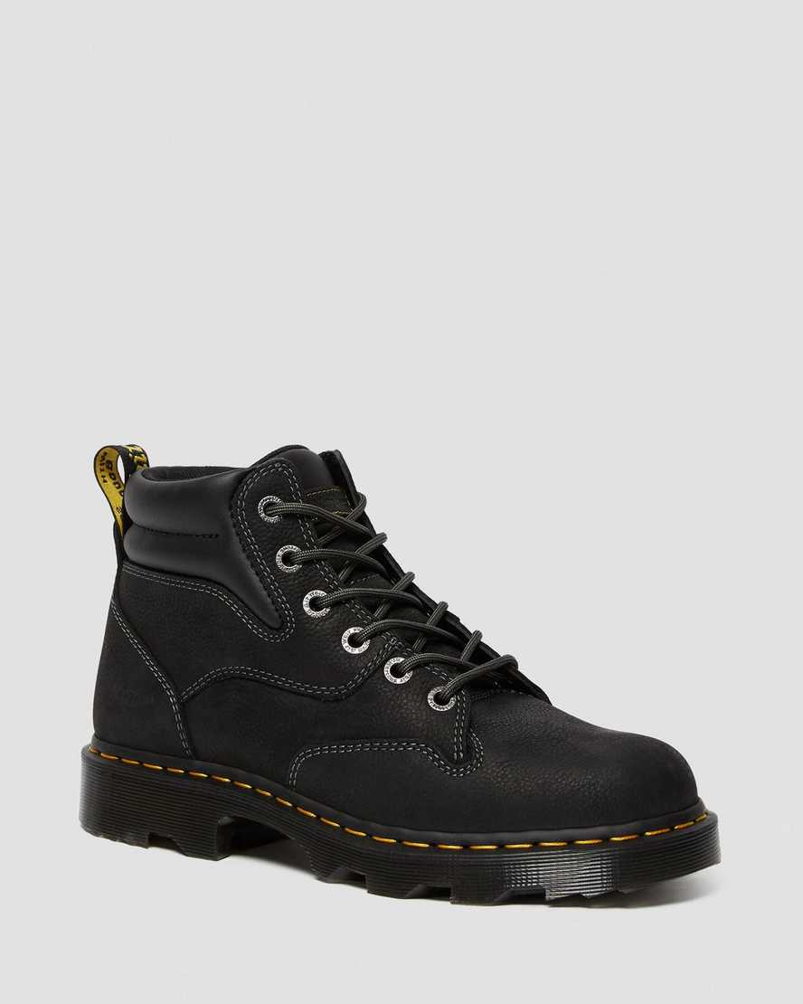 KELHAM OVERLORD LEATHER WORK BOOTS | Dr Martens