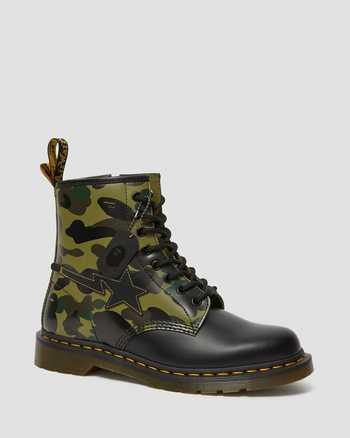 KHAKI+BLACK | Boots | Dr. Martens
