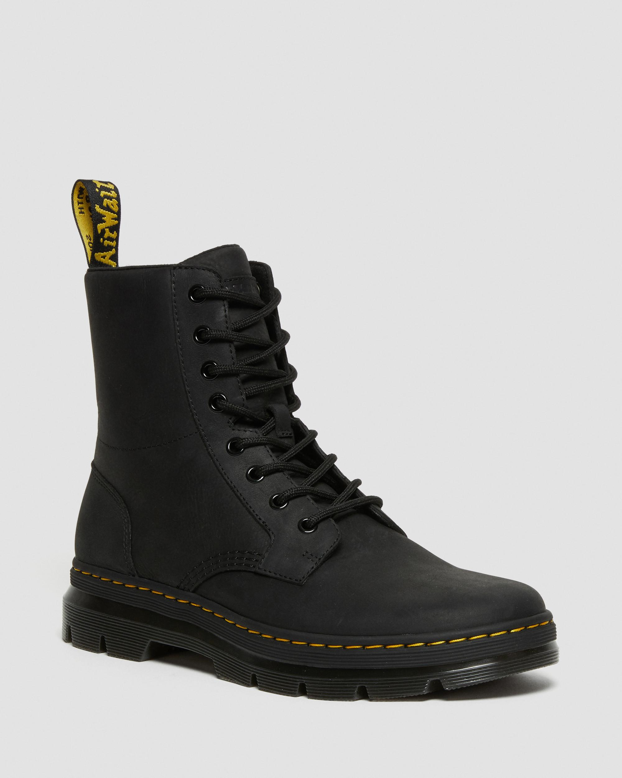 COMBS LEATHER CASUAL BOOTS   Dr. Martens