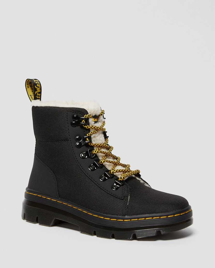 COMBS FAUX FUR LINED CASUAL BOOTS   Dr Martens