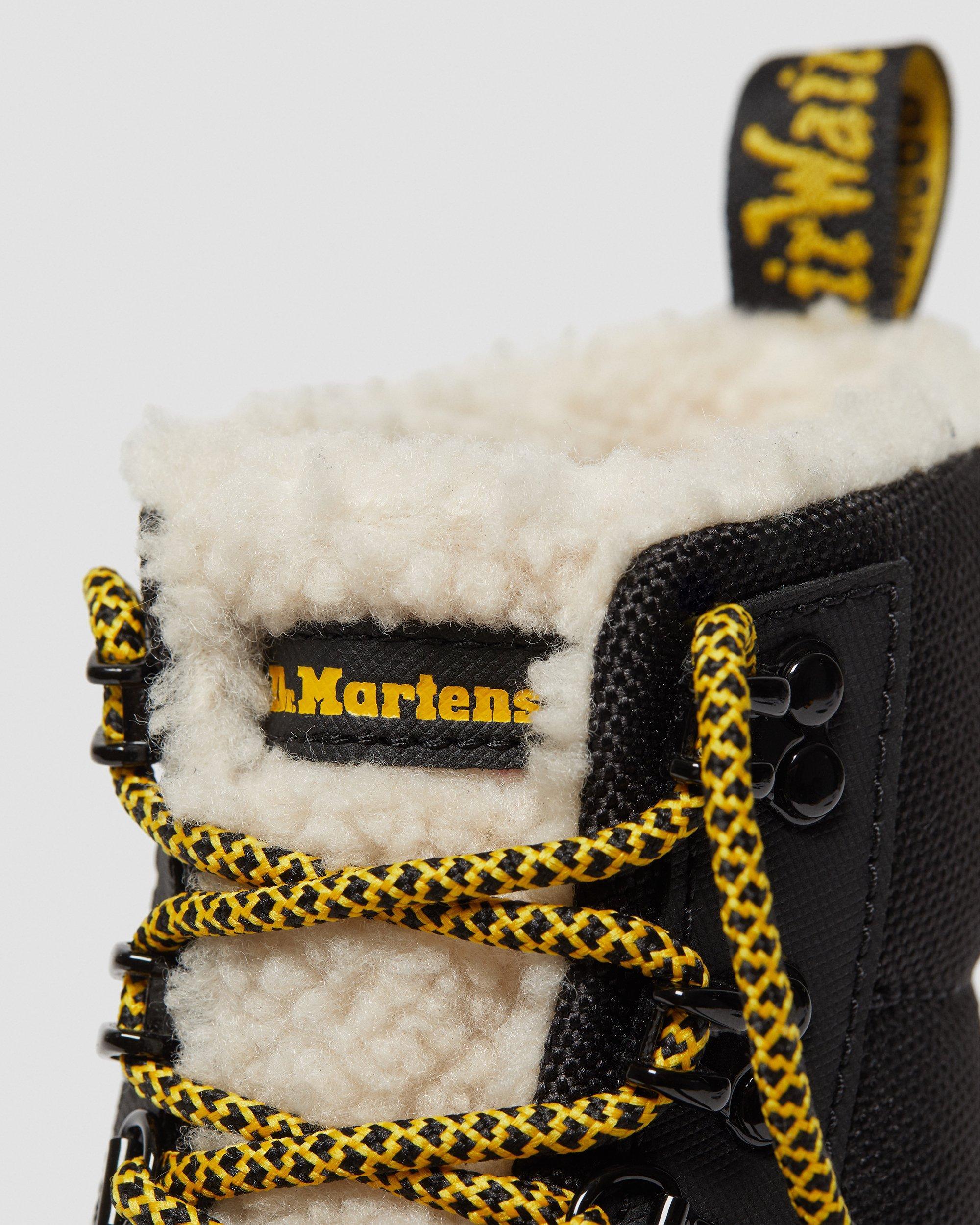 fur lined dr martens