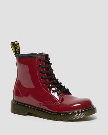 DARK SCOOTER RED | Laarzen | Dr. Martens