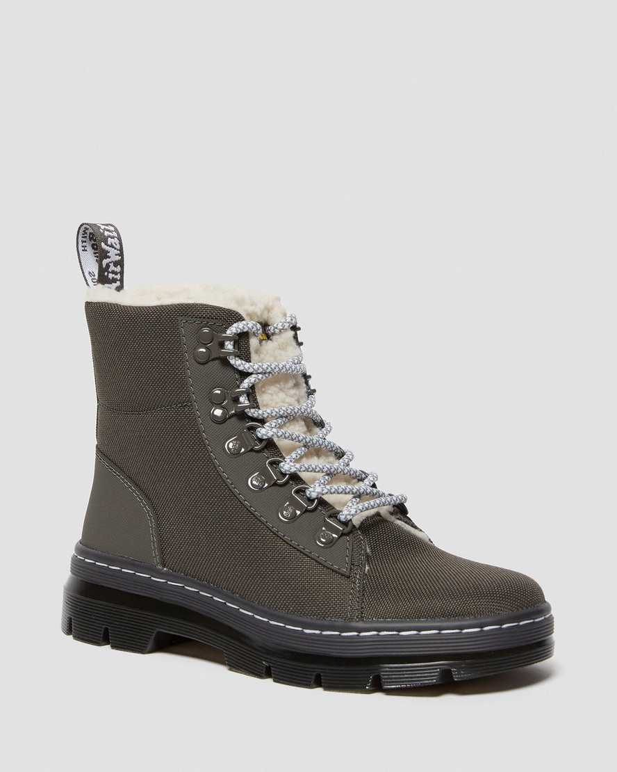 COMBS FAUX FUR LINED CASUAL BOOTS | Dr Martens