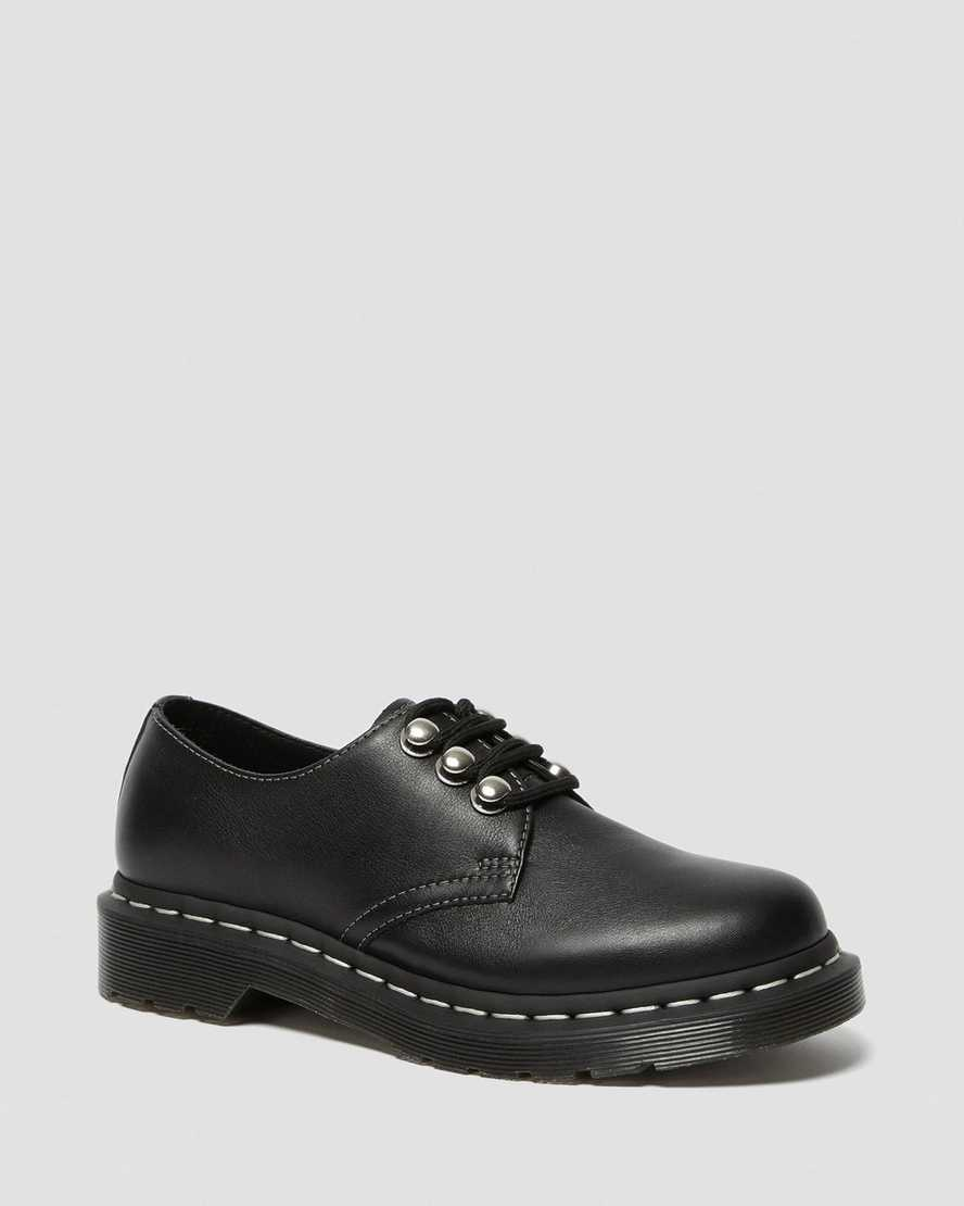 1461 WOMEN'S HARDWARE LEATHER OXFORD SHOES | Dr Martens