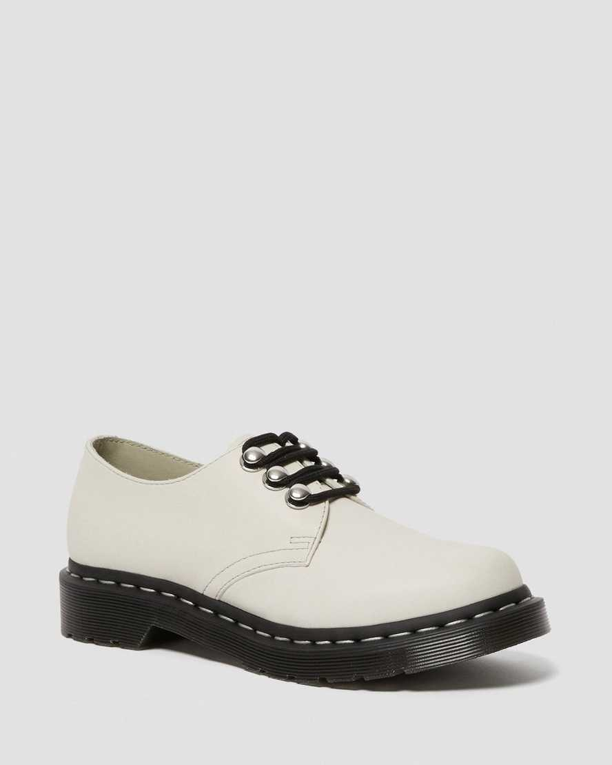 1461 WOMEN'S HARDWARE LEATHER OXFORD SHOES   Dr Martens