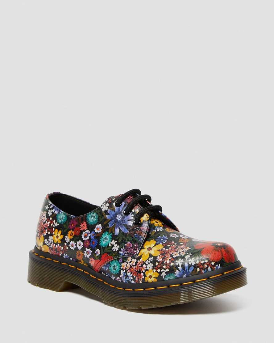 1461 Women's Floral Oxford Shoes | Dr Martens
