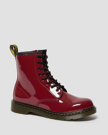 DARK SCOOTER RED | Boots | Dr. Martens