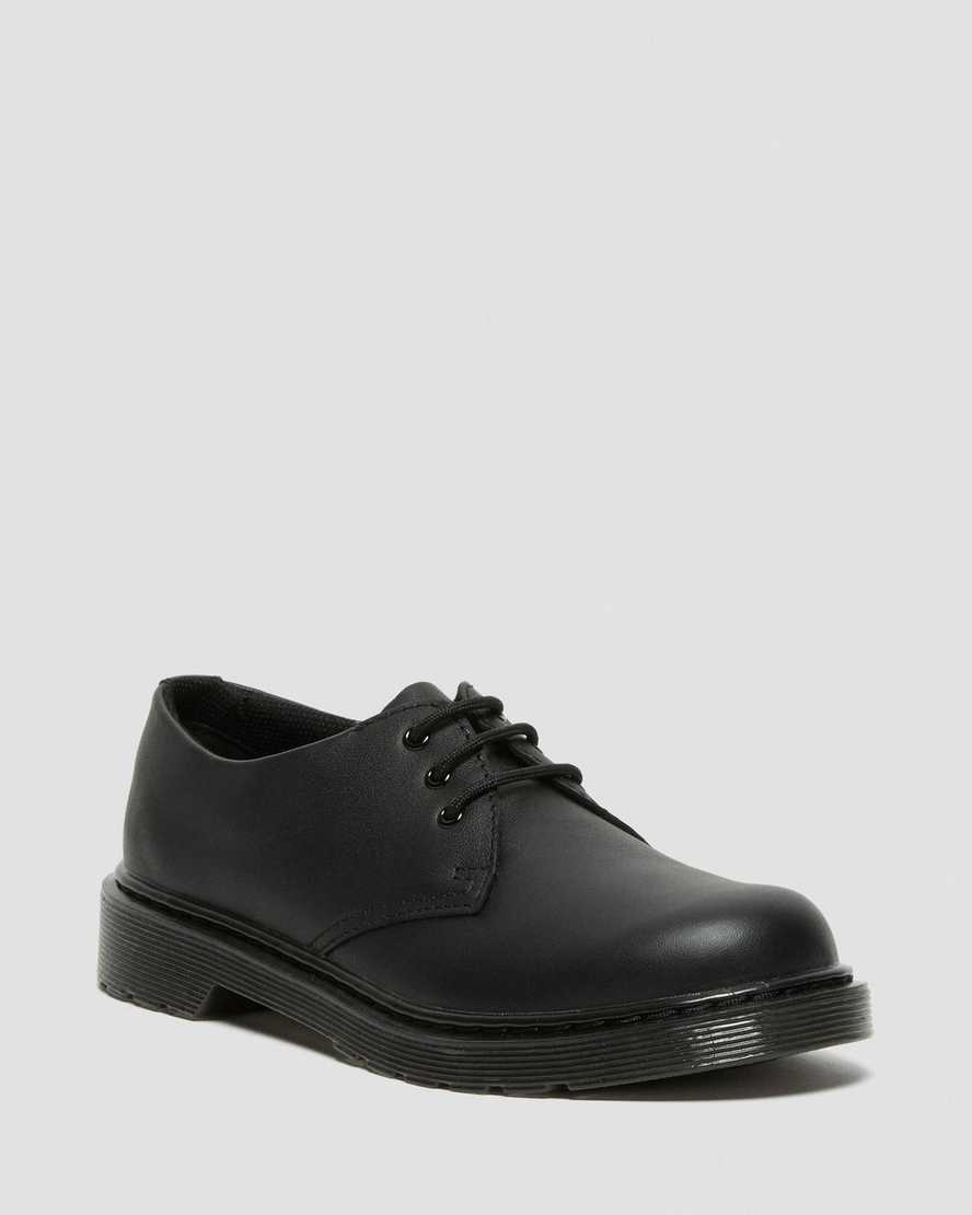 Youth 1461 Mono Softy T Leather Shoes | Dr Martens