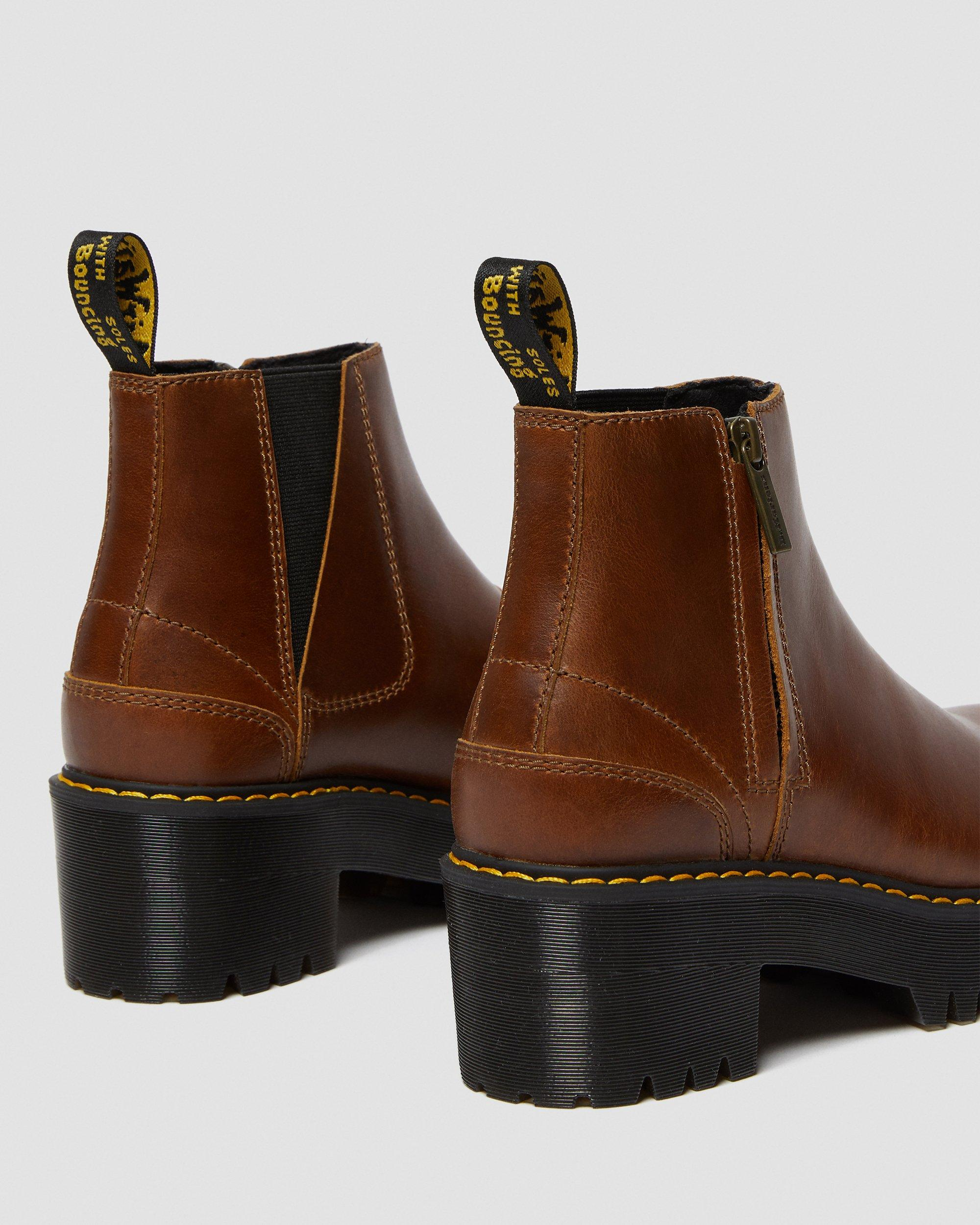 ROMETTY II LEATHER CHELSEA BOOTS | Dr