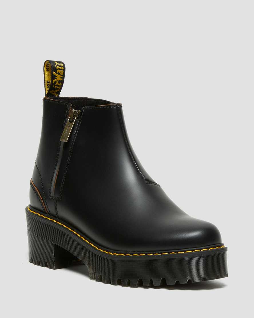 https://i1.adis.ws/i/drmartens/26200001.87.jpg?$large$Rometty II Vintage Smooth Leather Chelsea Boots | Dr Martens