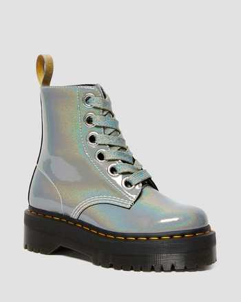SILVER   Boots   Dr. Martens