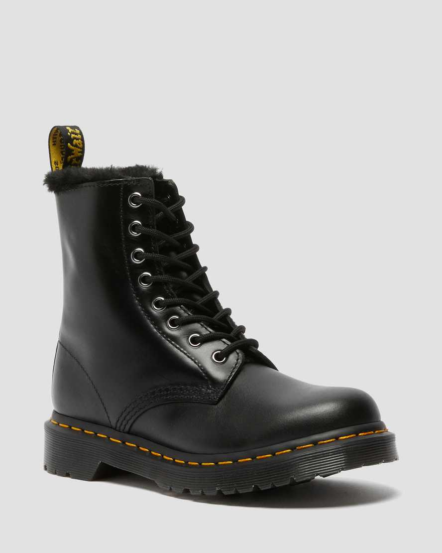 https://i1.adis.ws/i/drmartens/26238021.87.jpg?$large$1460 Serena Faux Fur Lined Lace Up Boots | Dr Martens