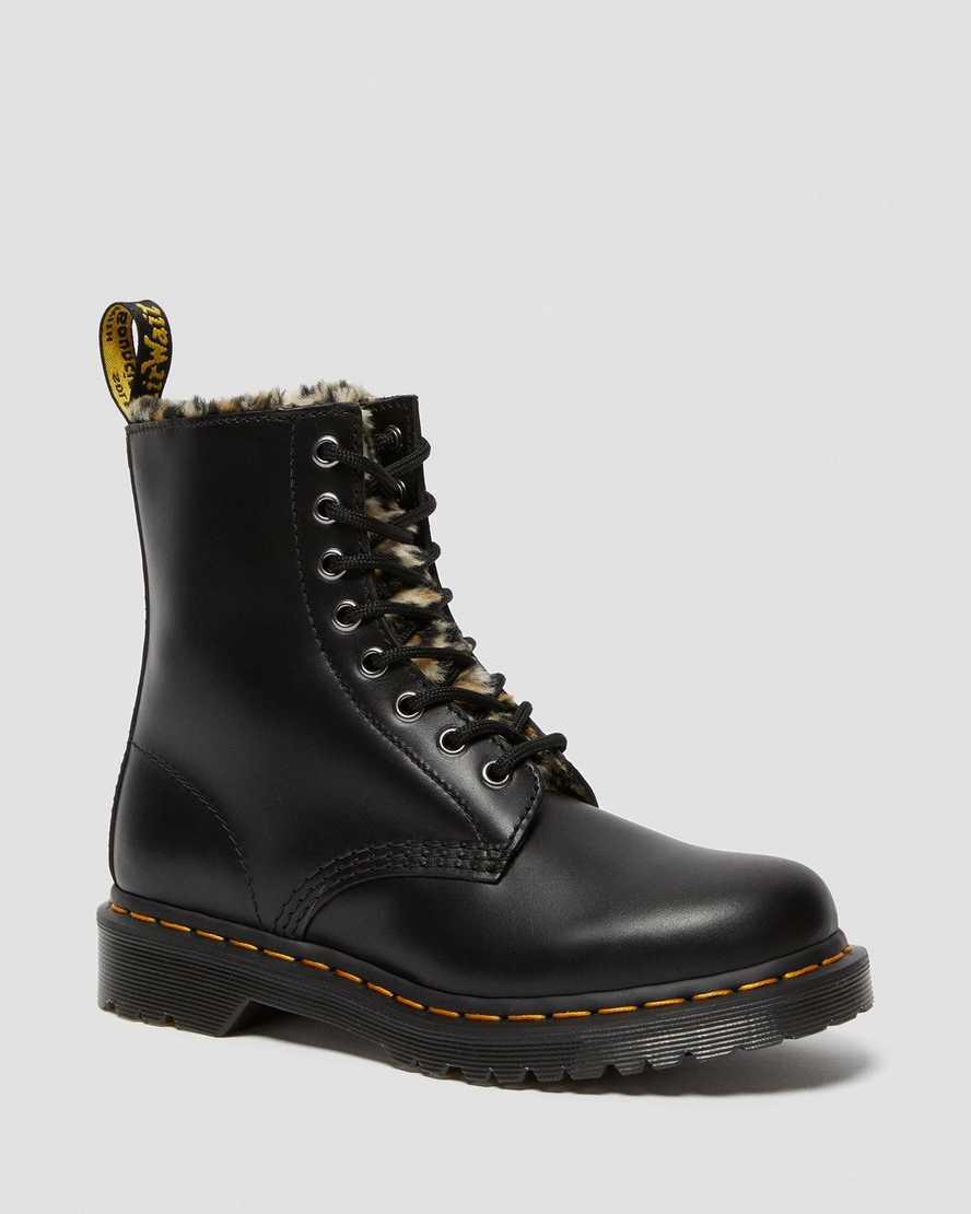 https://i1.adis.ws/i/drmartens/26239021.87.jpg?$large$1460 Serena Leopard Faux Fur Lined Boots | Dr Martens