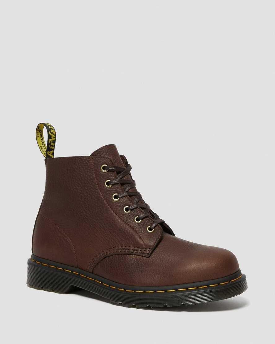 101 Ambassador Leather Ankle Boots   Dr Martens