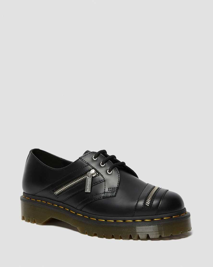 1461 Bex Zip Leather Shoes | Dr Martens