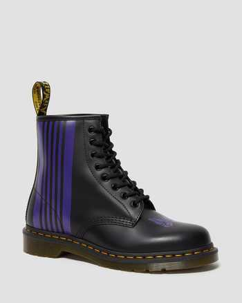 BLACK+PURPLE | Stiefel | Dr. Martens