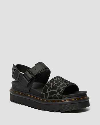BLACK/BLACK+GREY | Sandals | Dr. Martens