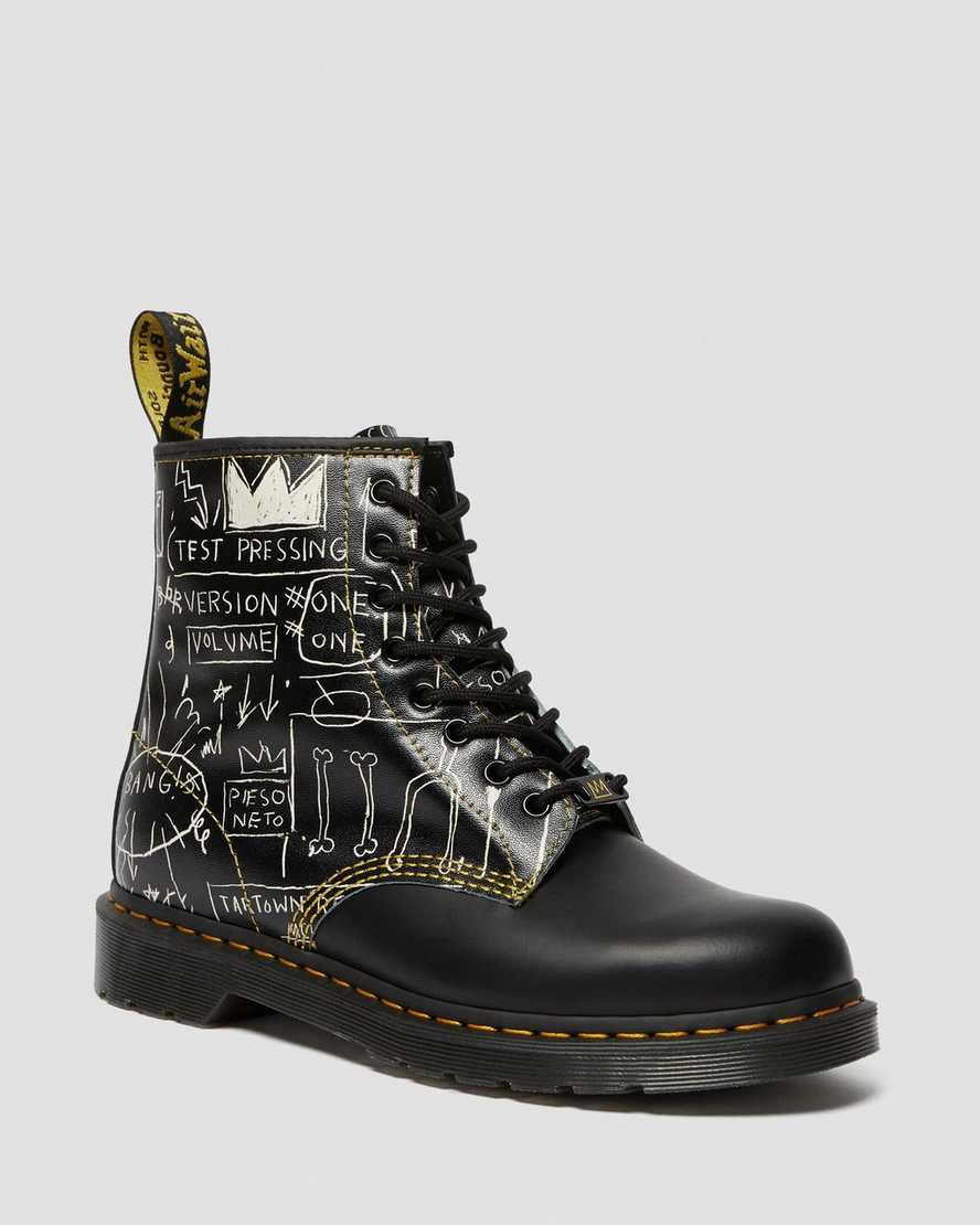 1460 BASQUIAT LEATHER LACE UP BOOTS | Dr Martens