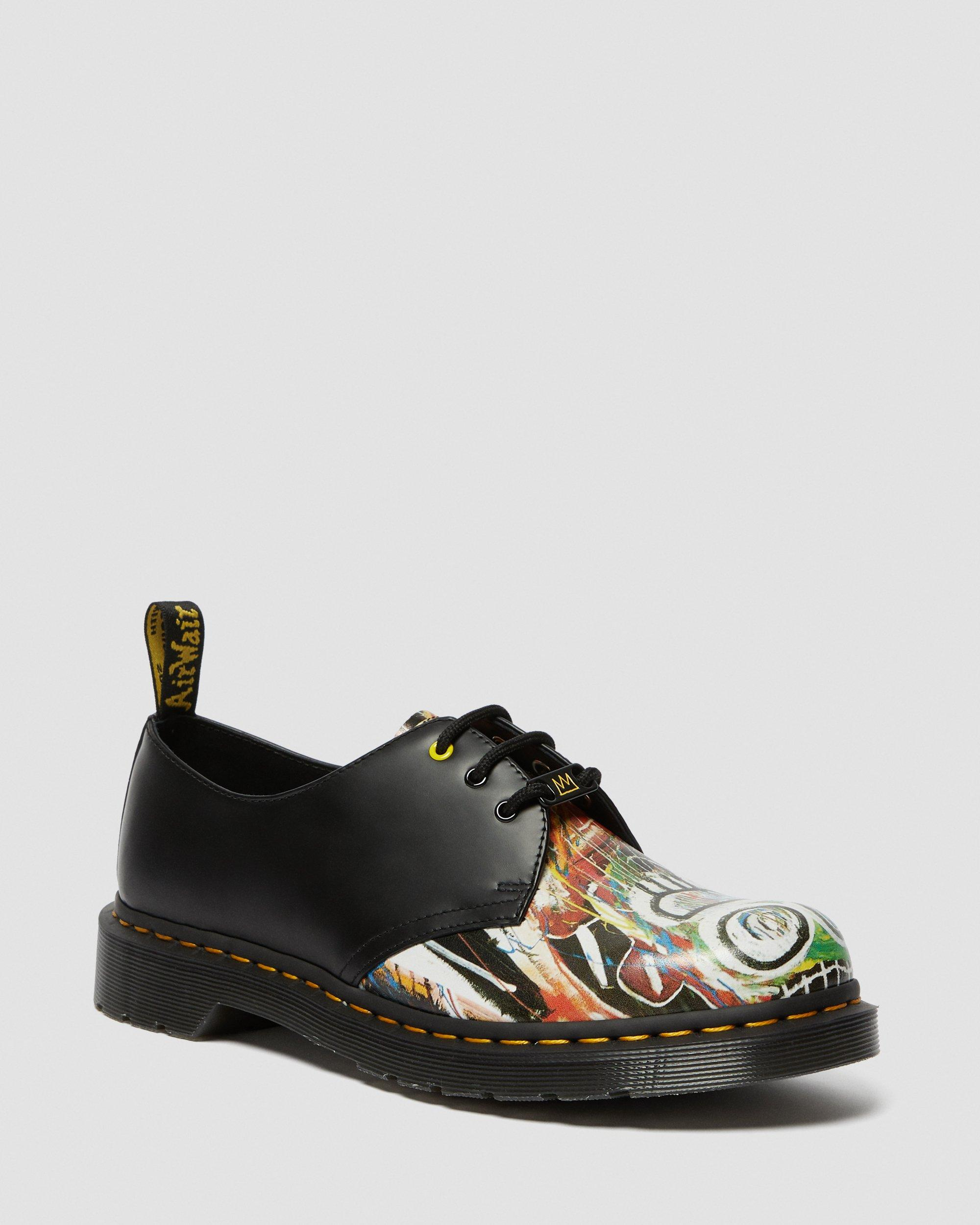 1461 BASQUIAT LEATHER OXFORD SHOES   Dr