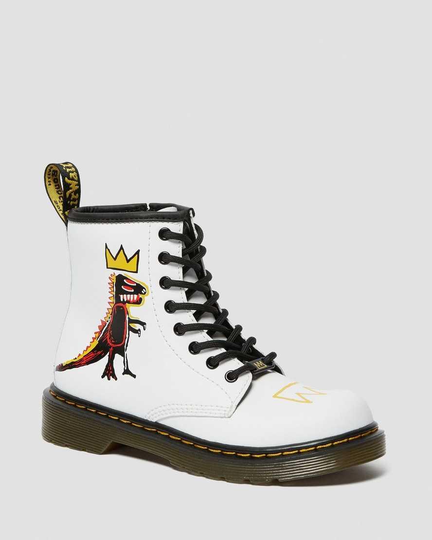 Botas de piel para niños junior 1460 Basquiat | Dr Martens