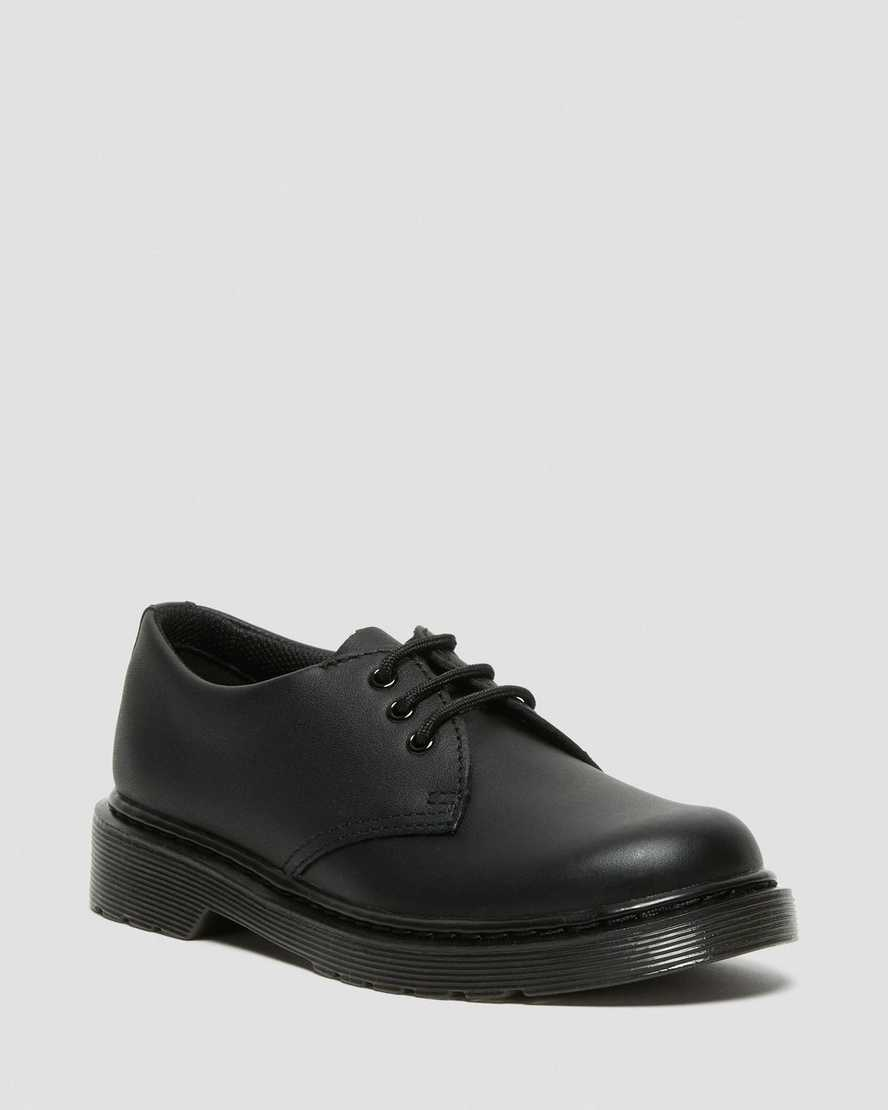 JUNIOR 1461 MONO SOFTY T LEATHER SHOES | Dr Martens