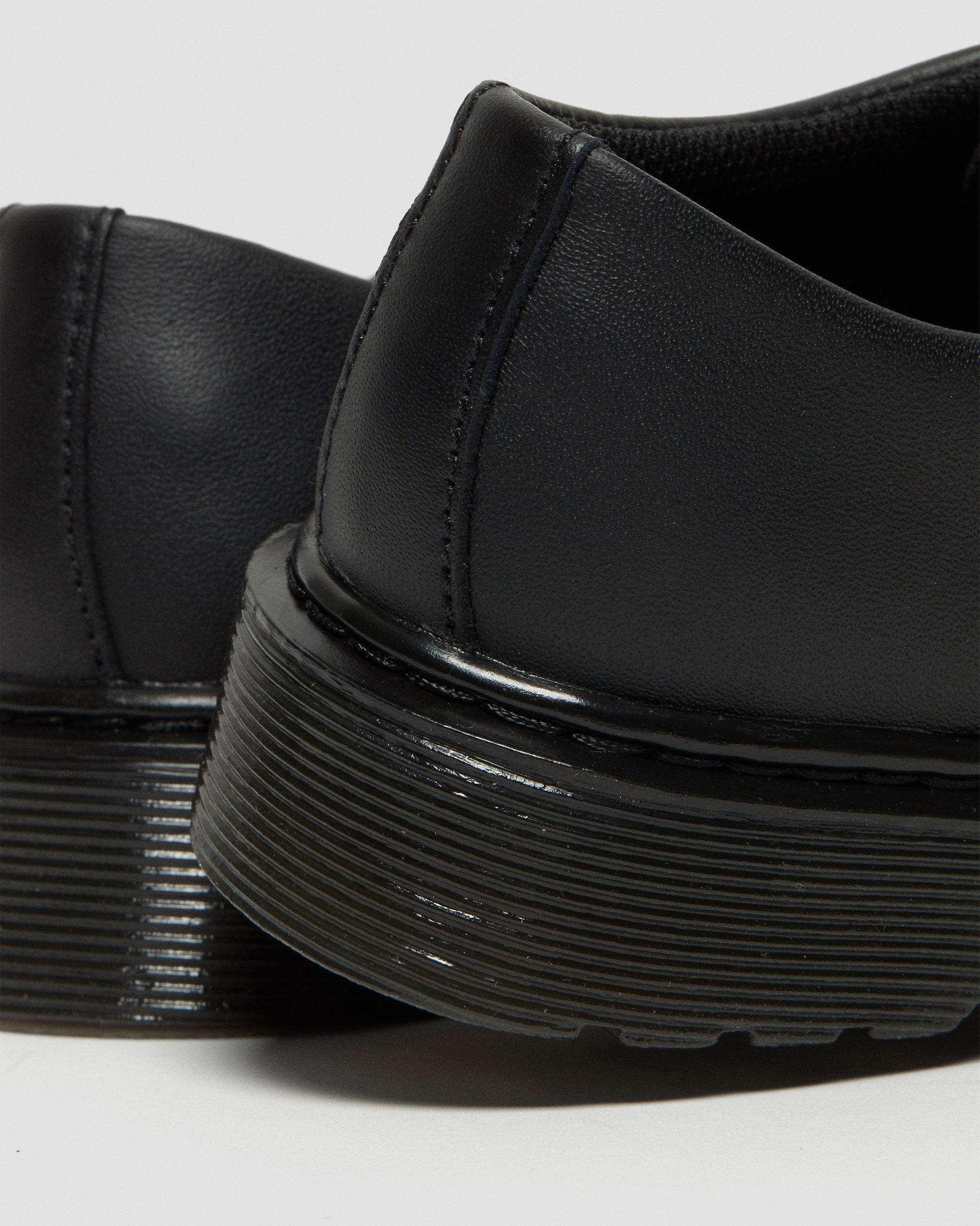 JUNIOR 1461 MONO SOFTY T LEATHER SHOES