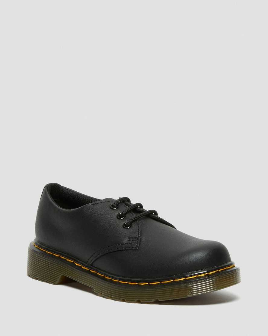 Junior 1461 Softy T Leather Shoes | Dr Martens