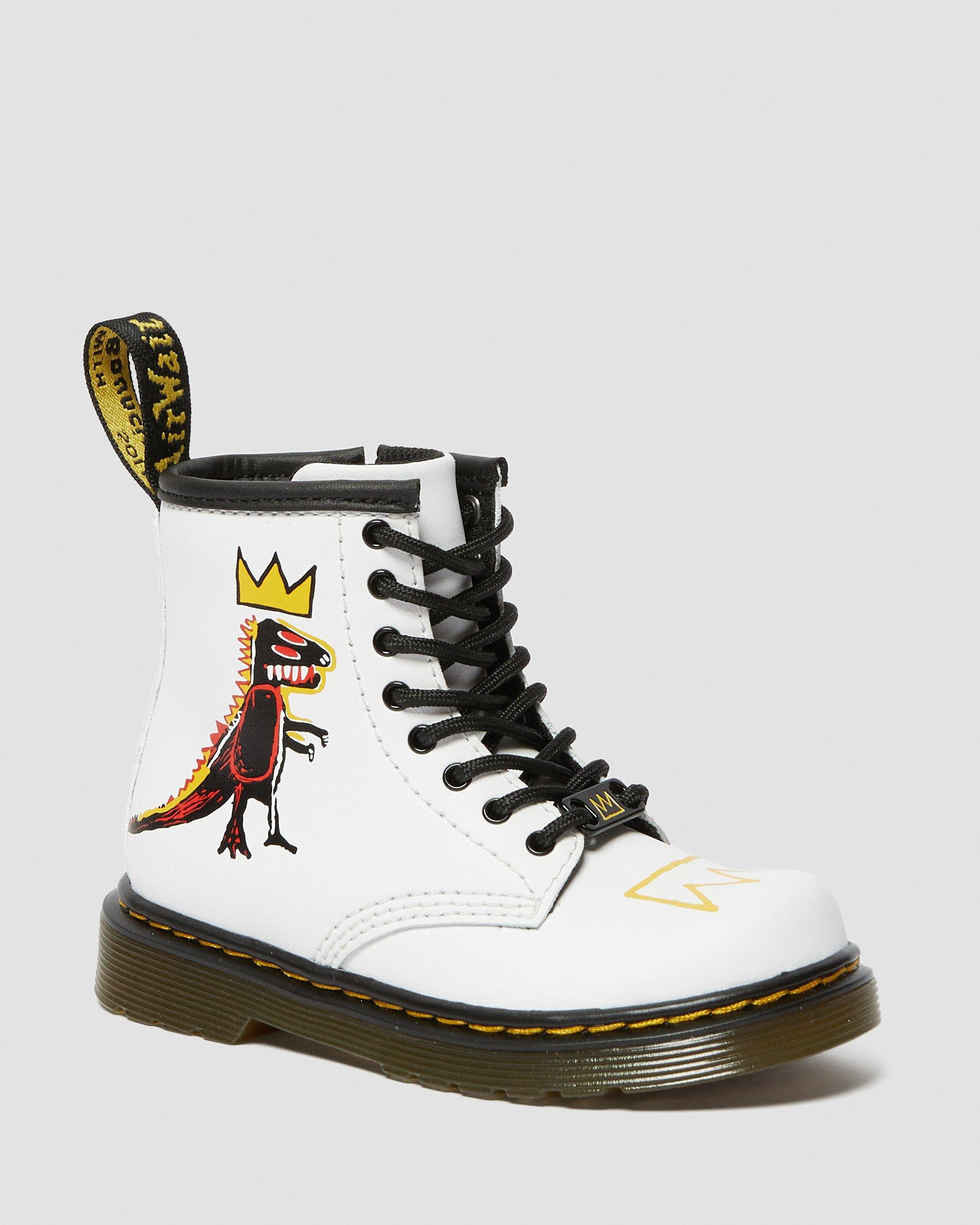 TODDLER 1460 BASQUIAT LEATHER BOOTS