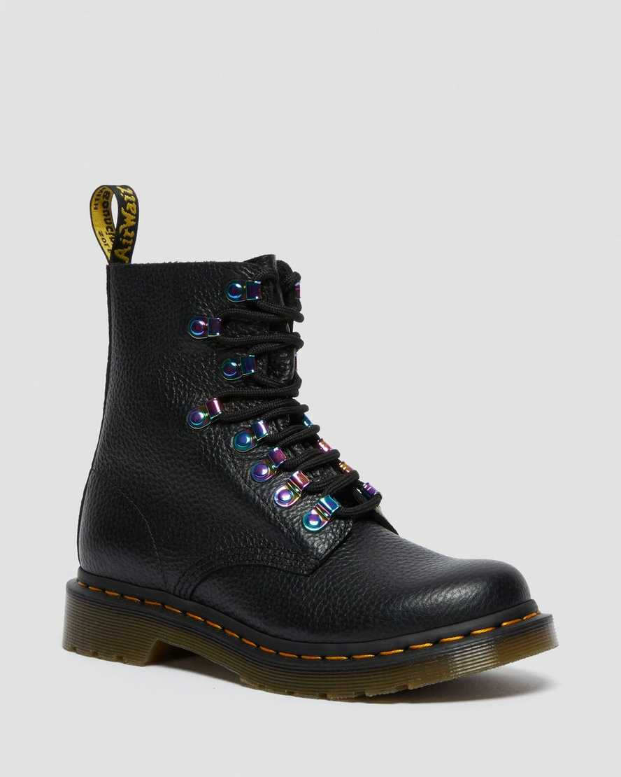 https://i1.adis.ws/i/drmartens/26412001.88.jpg?$large$1460 Pascal Iridescent Hardware Lace Up Boots | Dr Martens