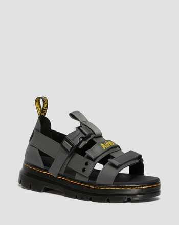 GUNMETAL | Sandals | Dr. Martens