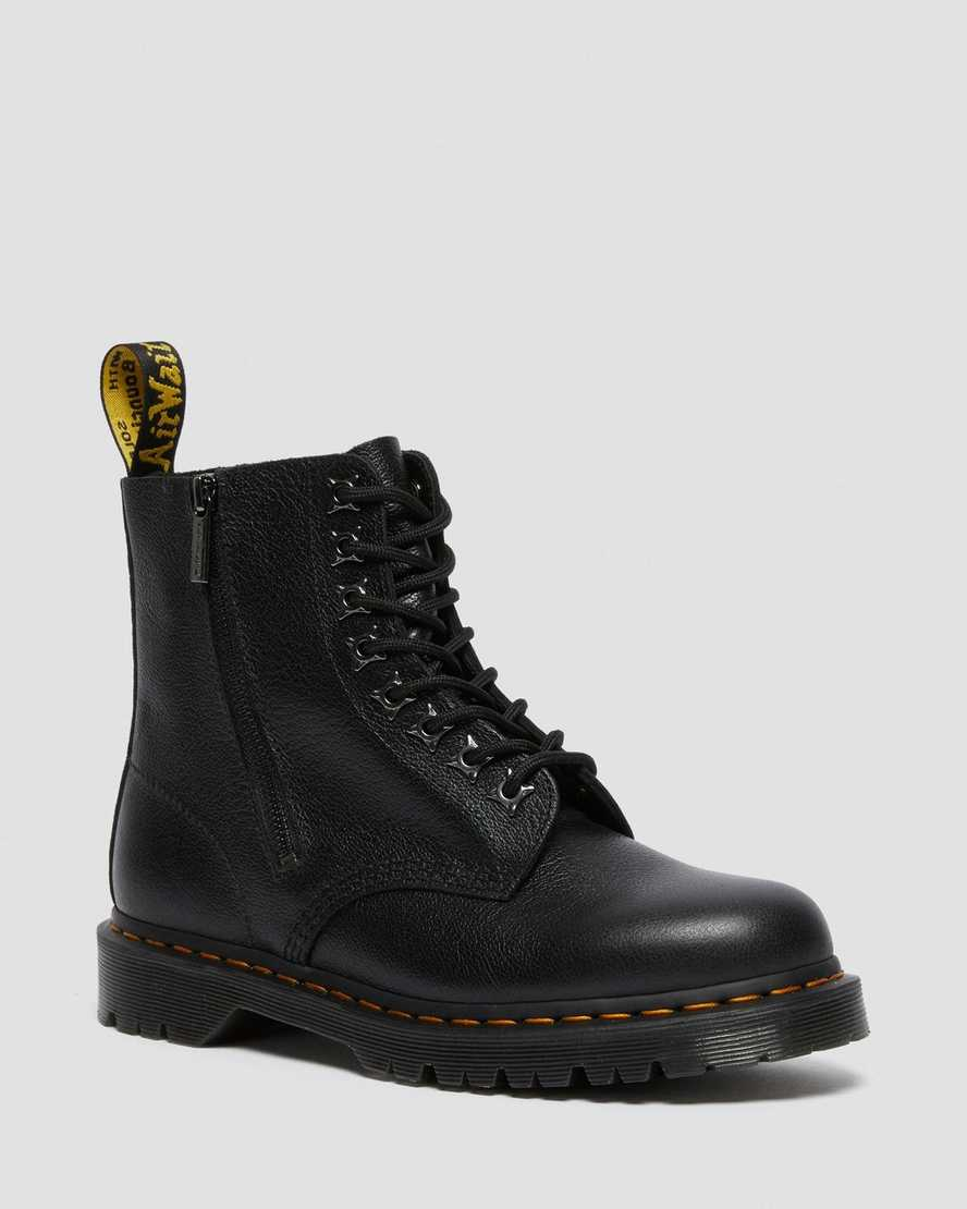 https://i1.adis.ws/i/drmartens/26583001.88.jpg?$large$1460 PASCAL ZIP TUMBLED LEATHER LACE UP BOOTS | Dr Martens