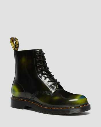 BLACK+MARSH GREEN+DARK TEAL | Boots | Dr. Martens