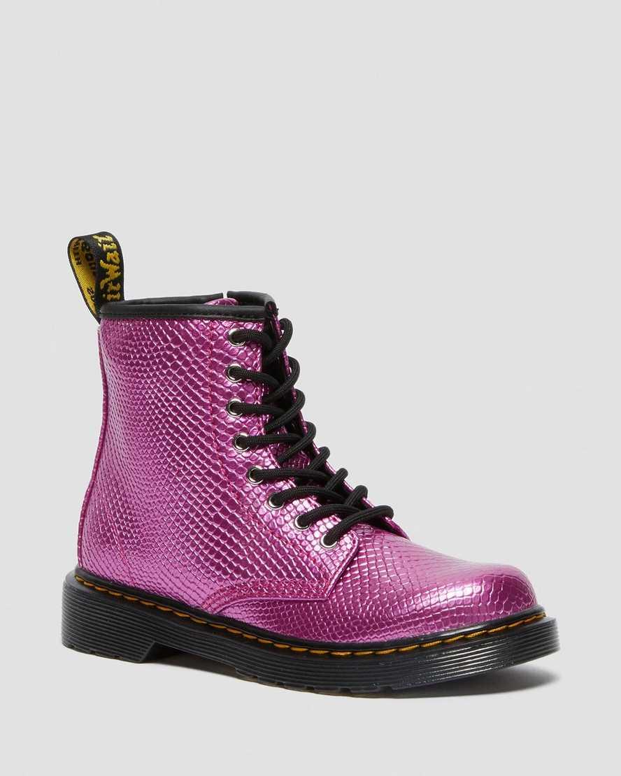 https://i1.adis.ws/i/drmartens/26605650.88.jpg?$large$Boots 1460 Reptile en Cuir Gaufré Junior   Dr Martens