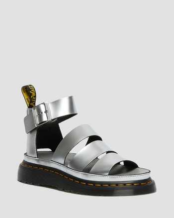 SILVER | Sandals | Dr. Martens