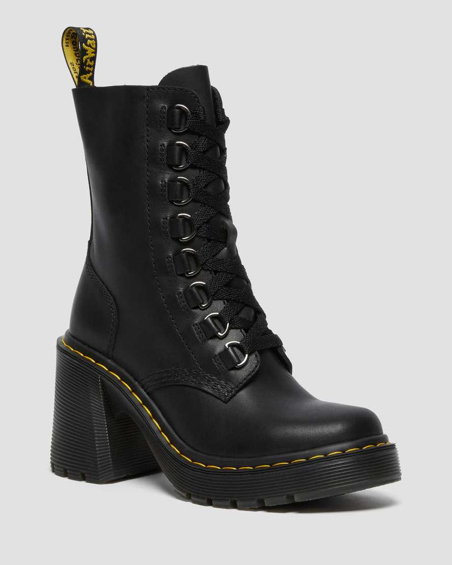 https://i1.adis.ws/i/drmartens/26701001.88.jpg?$large$Chesney Leather Flared Heel Lace Up Boots | Dr Martens