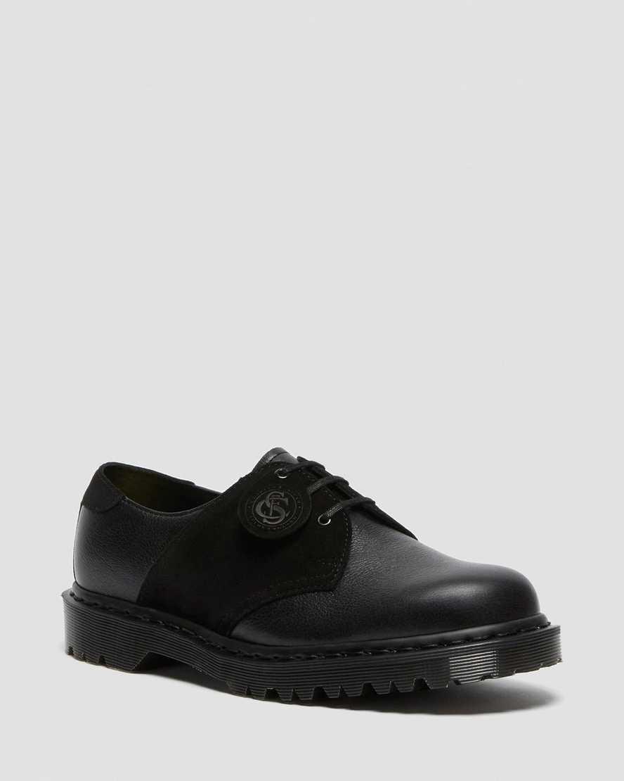 https://i1.adis.ws/i/drmartens/26707001.87.jpg?$large$1461 Leather + Suede Saddle Shoes | Dr Martens