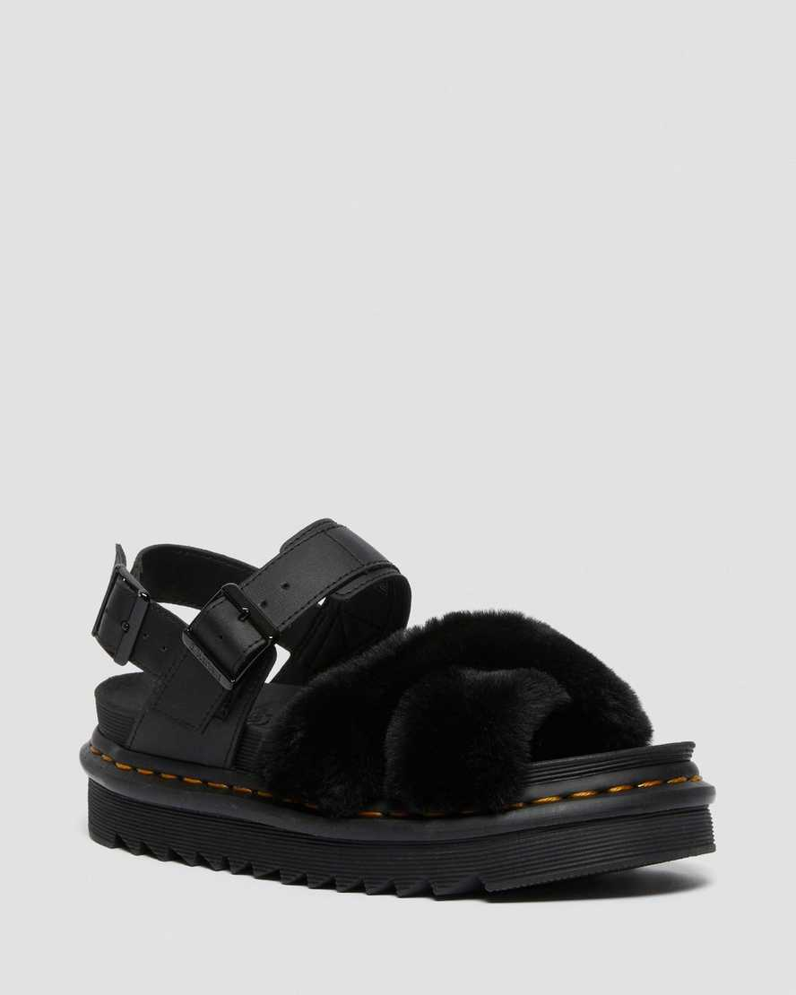 https://i1.adis.ws/i/drmartens/26720001.88.jpg?$large$Voss Fluffy Faux Fur Leather Strap Sandals | Dr Martens
